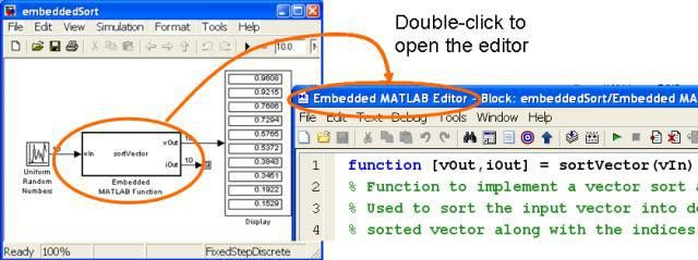 Simulink - Using Embedded MATLAB Blocks in Simulink