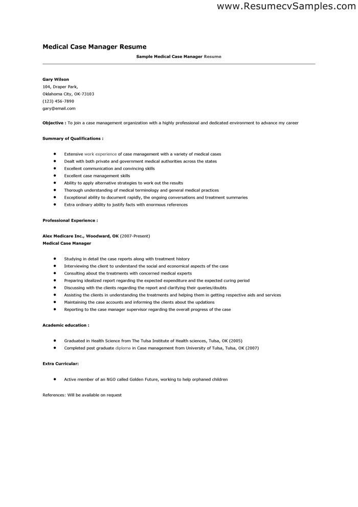 choose. case manager resume examples nurse hospice nursing nurse ...