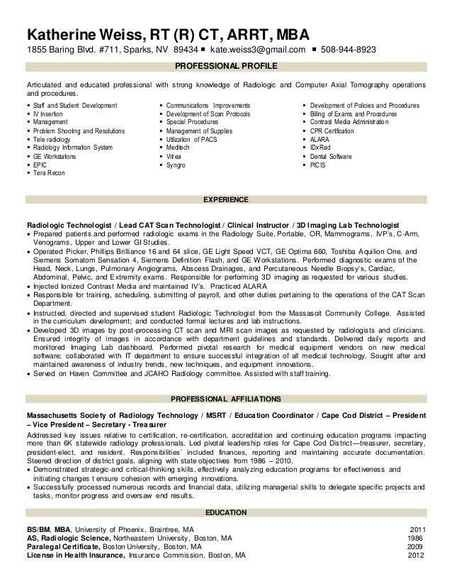 radiographer cover letter. tech cover letter resume cv cover ...
