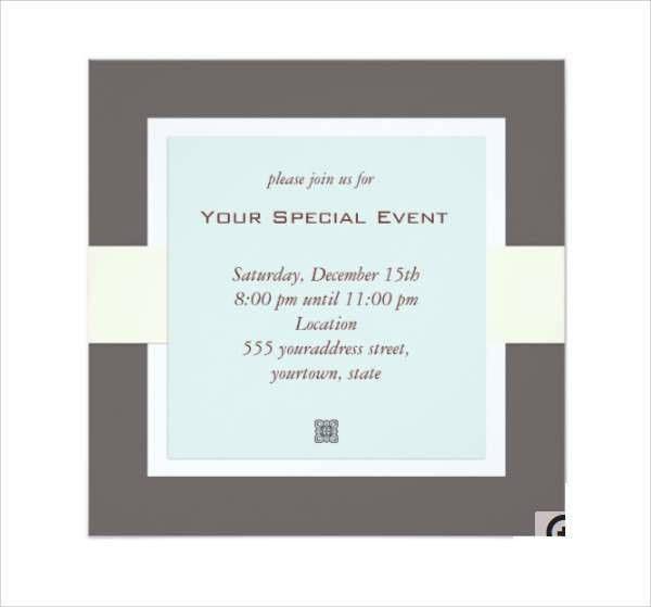 28+ Business Invitation Designs | Design Trends - Premium PSD ...