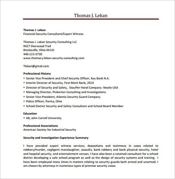 pretty sample security resume images security guard resume