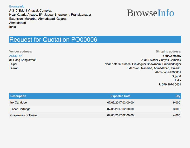 Odoo Professional Report Templates | Odoo Apps