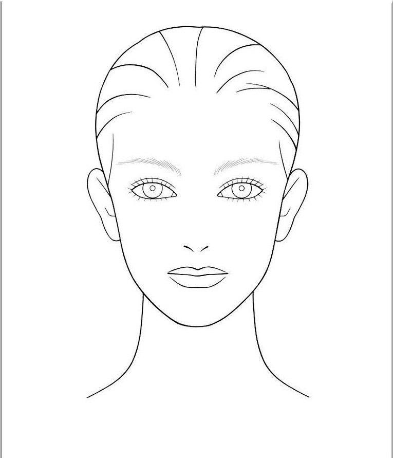 Blank Face Template | peerpex