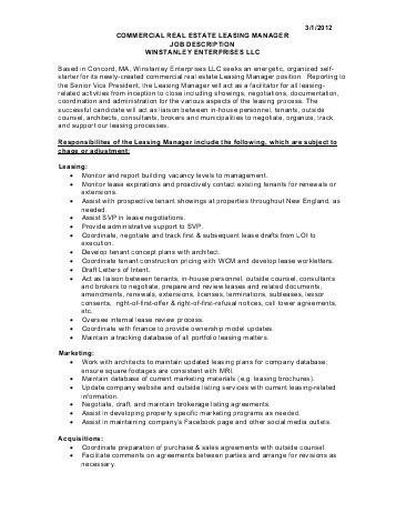 Job Description: Field HR Manager