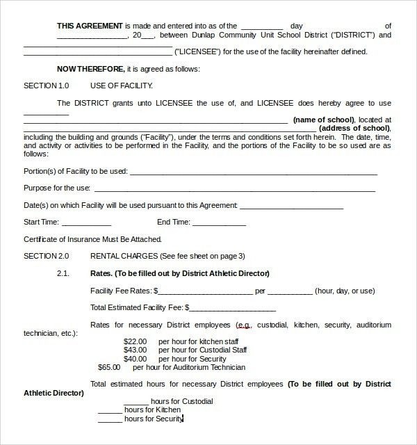 Sample Rental Contract Template - 7+ Free Documents Download in ...