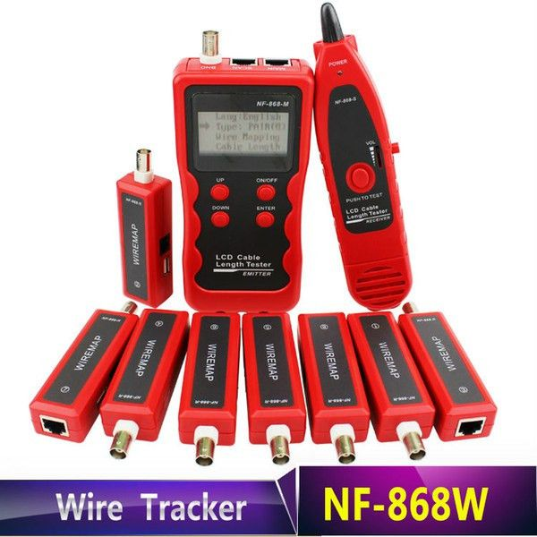 Buy High Quality Nf 868w English Version Lan Tester Lan Cable ...