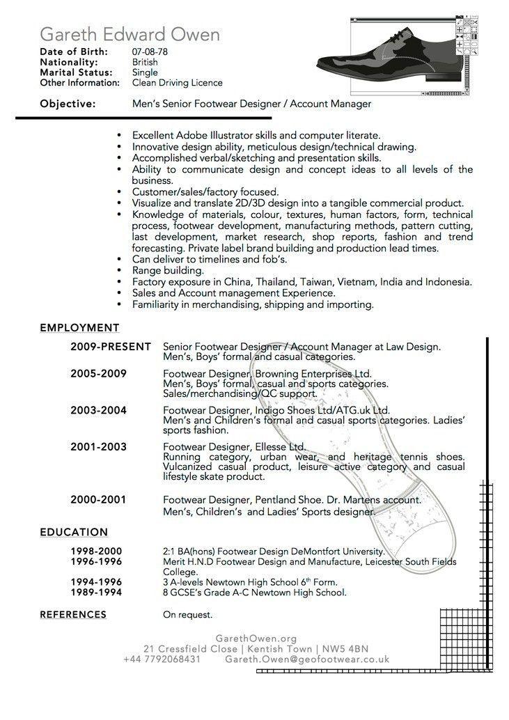 20+ [ Cv Resume Example ] | C V Gareth Owen,41 Modern Teacher ...