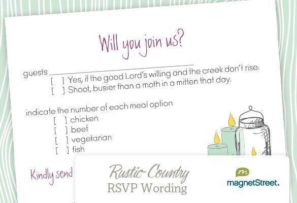 Wedding Invitation Rsvp Wording | christmanista.com