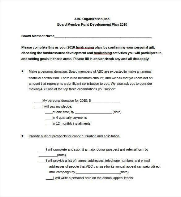 Fundraising Proposal Template. Church Fundraising Proposal 6+ ...