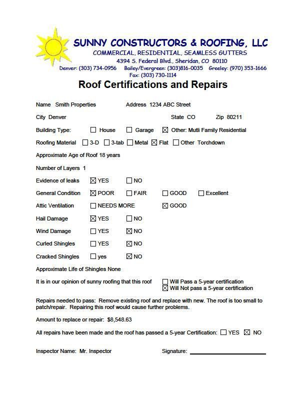 Roof Certifications & Warranties - Residential & Commercial ...
