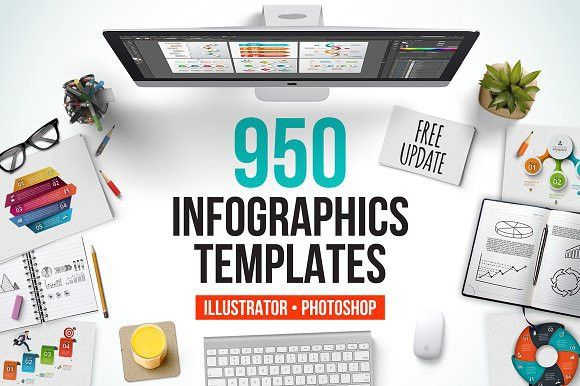 Infographic templates bundle by Abert on @creativemarket ...