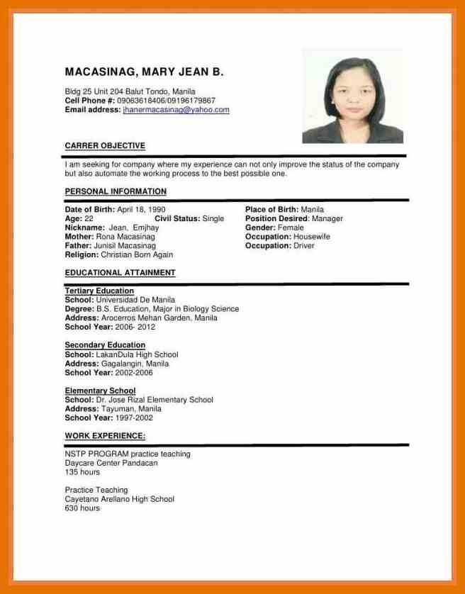 Job Apply Resume. example resume for job application. job apply ...