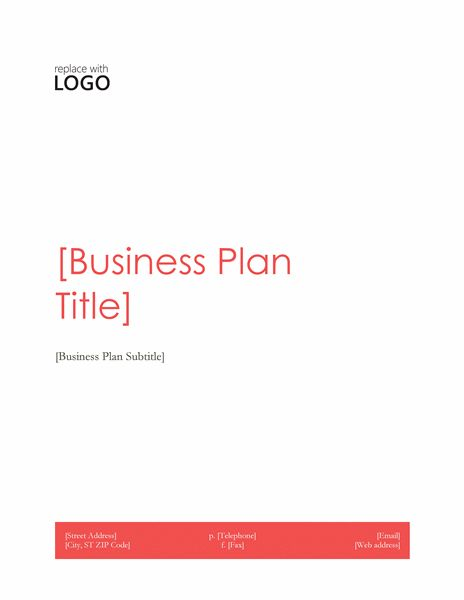 Business plan - Office Templates