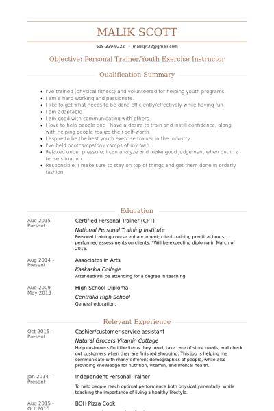 Cashier/Customer Service Resume samples - VisualCV resume samples ...