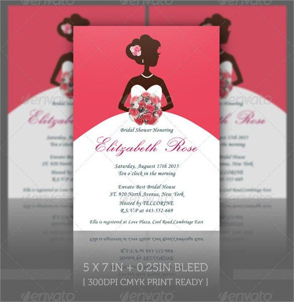 Sample Bridal Shower Invitation Template - 25+ Documents in PDF ...