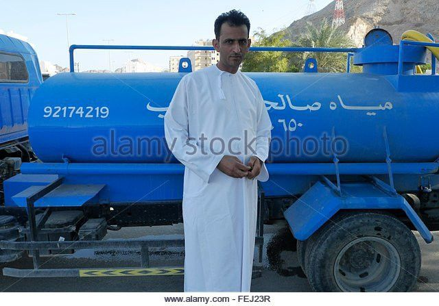 Muscat Oman Water Truck Driver Stock Photos & Muscat Oman Water ...