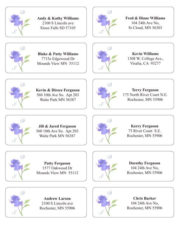 Wedding Invitation Return Address Labels Etiquette ~ Yaseen for .