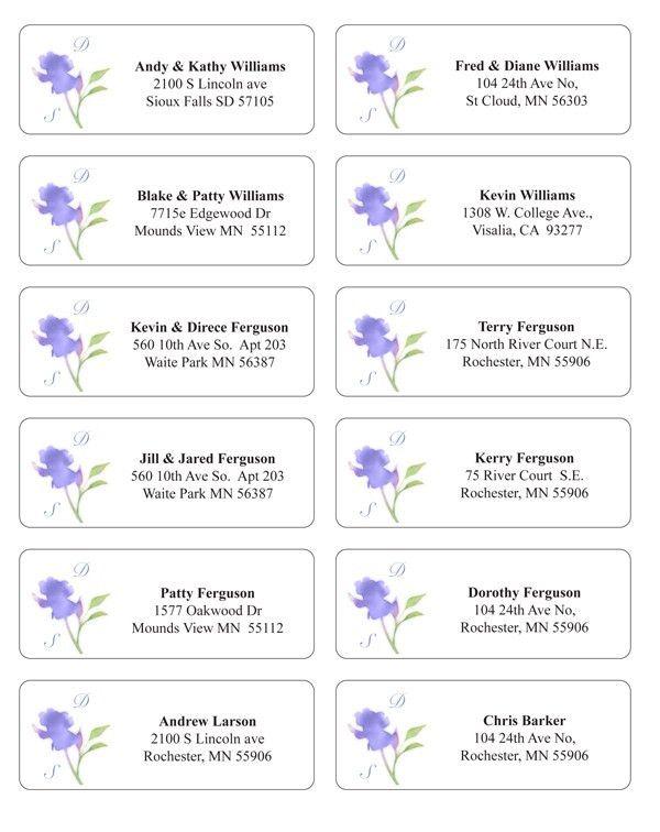 Make envelope addressing easier and extra stylish!