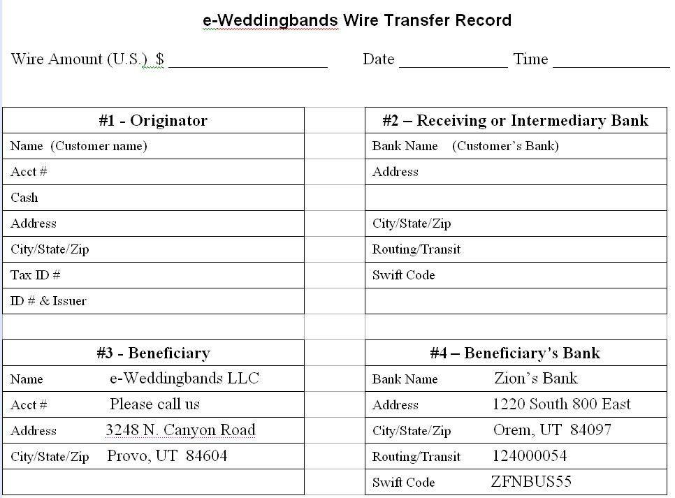 Wire Transfer Funds - Dropot.com