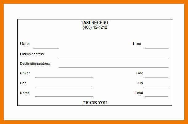 7+ transport receipt sample | resume holder