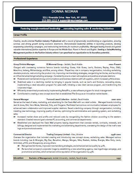 marketing advertising resume