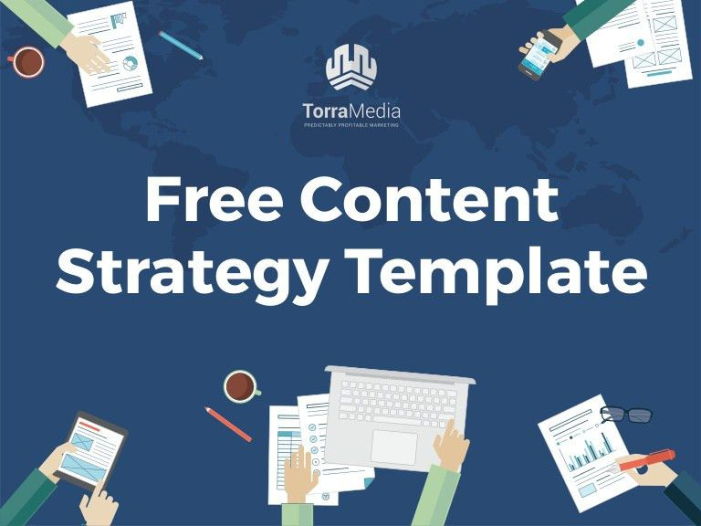 2015 Content Marketing Strategy Template