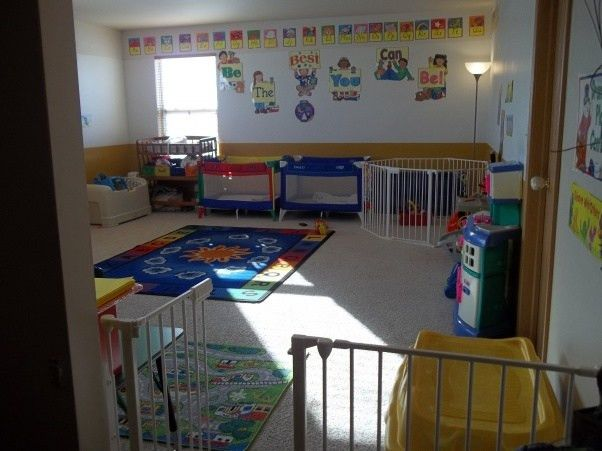 Home Daycare space, Here is my loft area I turned into a home ...