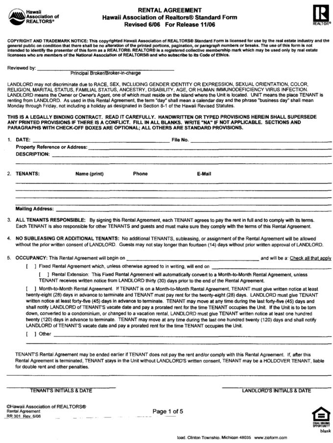 Professional Commercial Lease Agreement Template Word and PDF ...