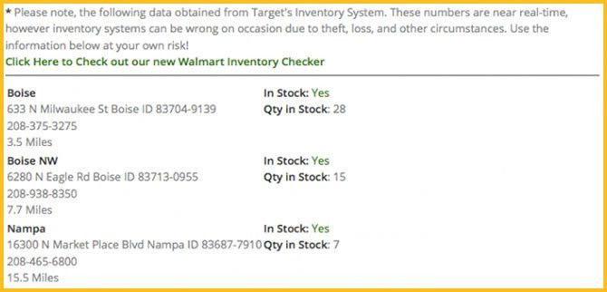 Save Time When You Use This Target & Walmart Inventory Checker ...