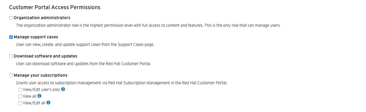 How to Create and Manage Users - Red Hat Customer Portal