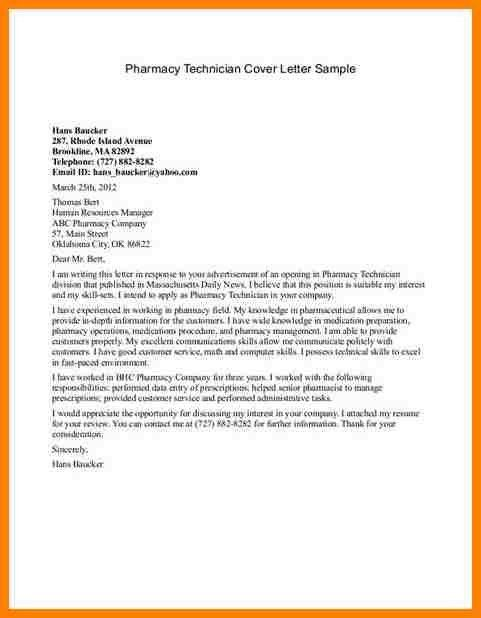 12+ pharmacy technician cover letter sample | farmer resume