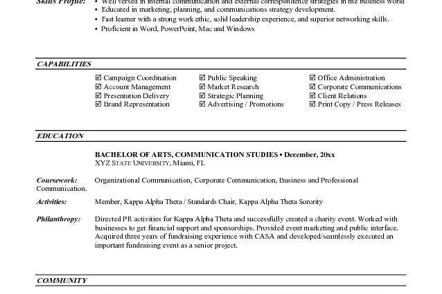 entry level marketing resumes by jesse kendall - Writing Resume ...