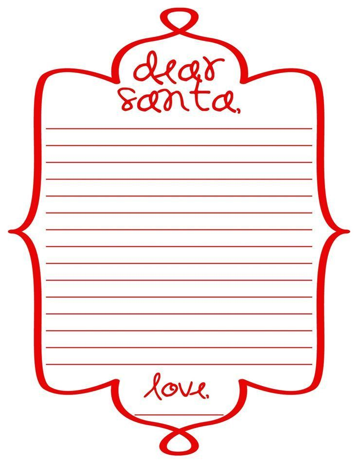 113 best Christmas Printable Letters to/from Santa,Envelopes ...