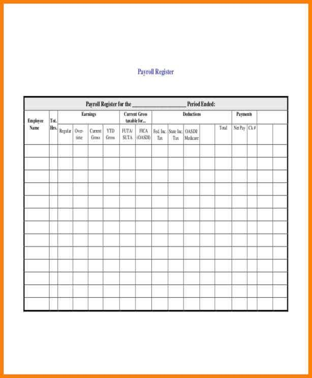 3+ employee payroll record template | cashier resumes