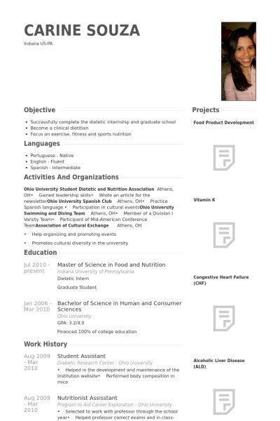 Studentische Hilfskraft CV Beispiel - VisualCV Lebenslauf Muster ...