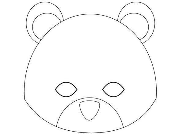 How to craft teddy bear mask - Hellokids.com