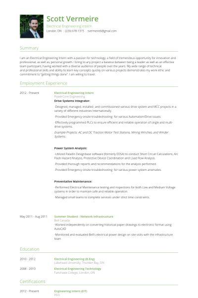 Download Marine Electrical Engineer Sample Resume ...
