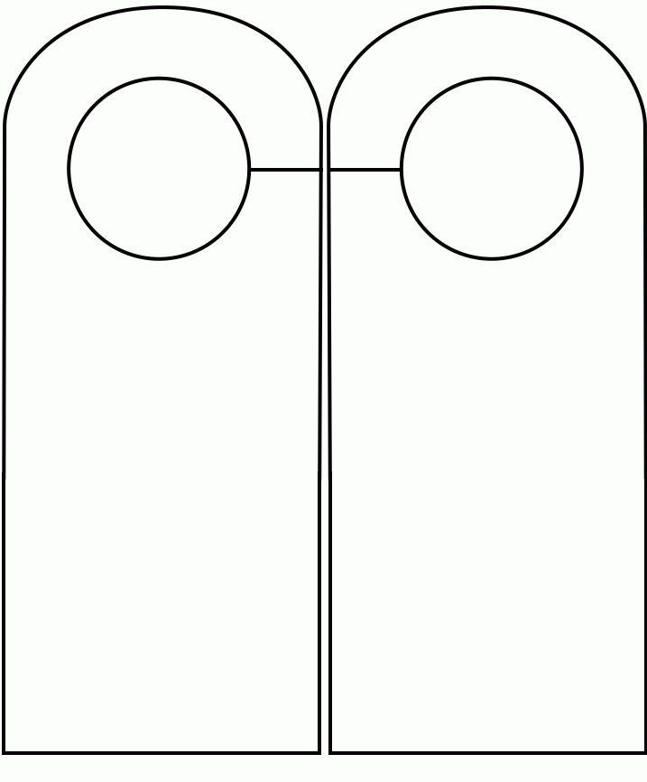 """Door Plaque Templates & Do Not Disturb Door Hanger Sign""""""""sc"""":1""""st ..."""