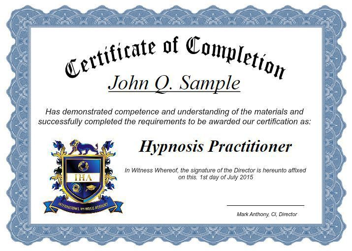 Hypnosis Certification Course | Mark Anthony Hypnosis Academy