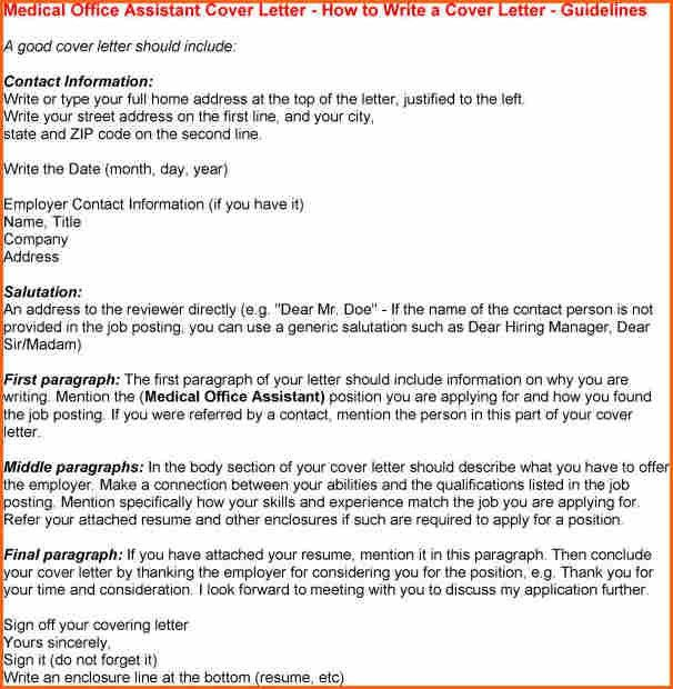 5+ medical assistant cover letter - Budget Template Letter