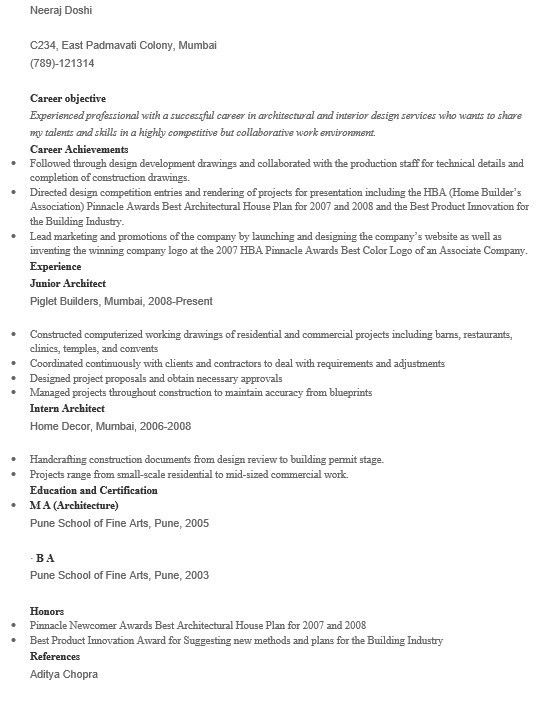 bilingual architect resume 16 free sample bilingual architect