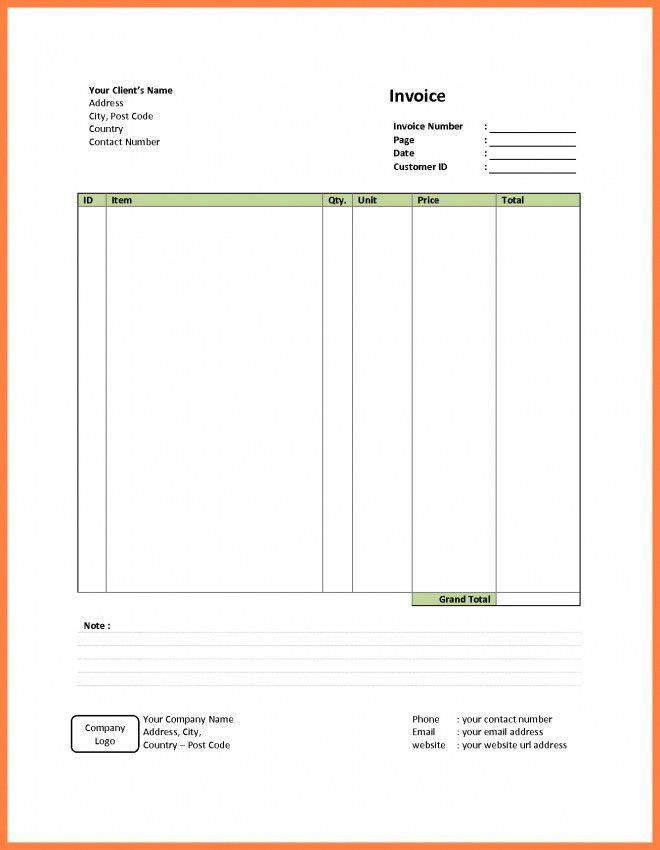Simple Invoice Billing Software | Design Invoice Template