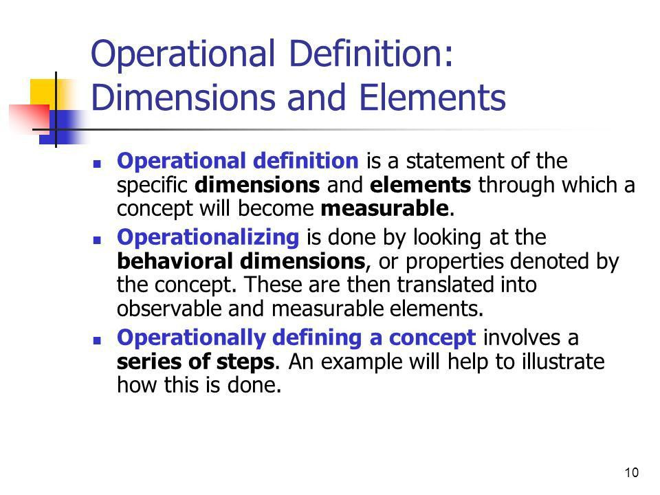 Measurement of Variables: Operational Definition - ppt video ...