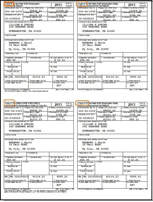 How to Fill Out and Print W2 Forms