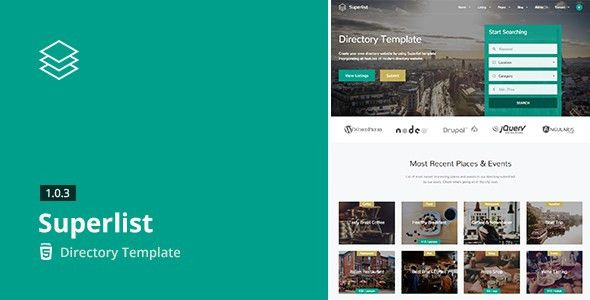 Superlist - Directory Template by aviators | ThemeForest