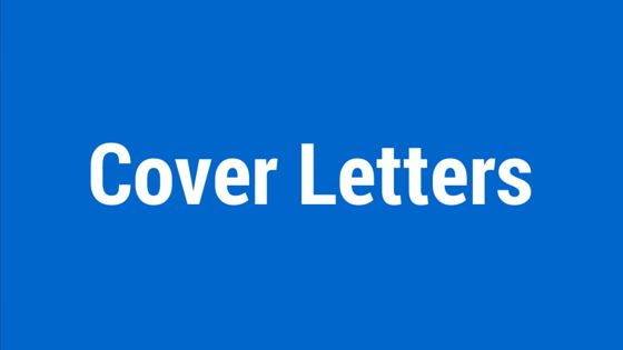 Cover Letter Writing Service by Australia's No. 1 Cover Letter Writers