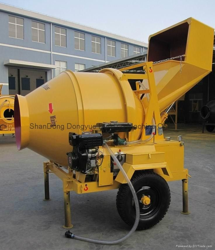 Best sale building machinery concrete mixer JZC350 - dongyue ...