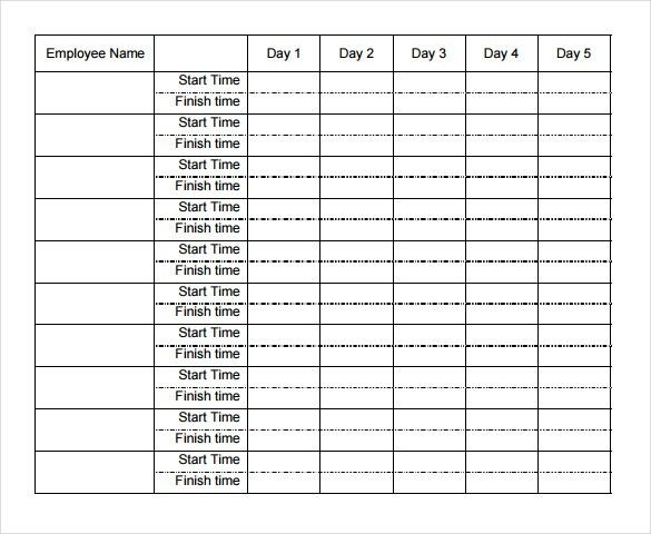 13+ Free Timesheet Templates – Free Sample, Example Format ...