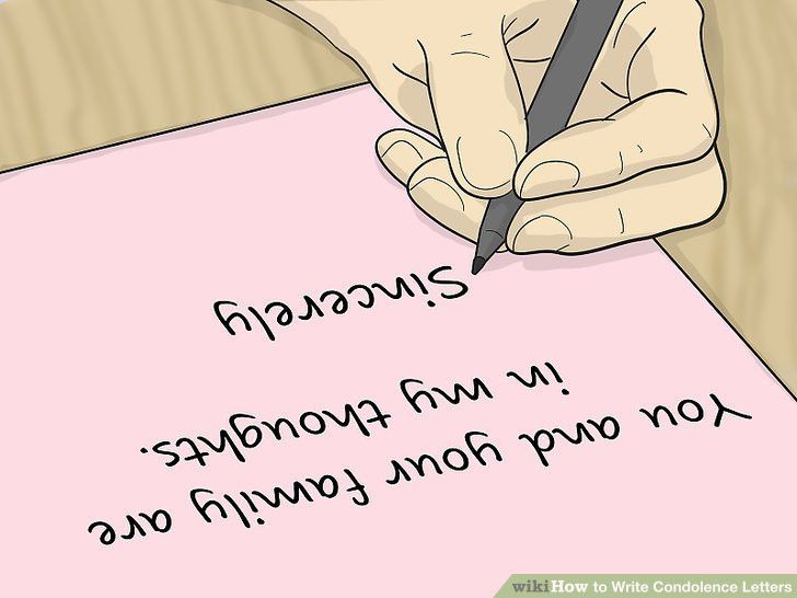 3 Ways to Write Condolence Letters - wikiHow