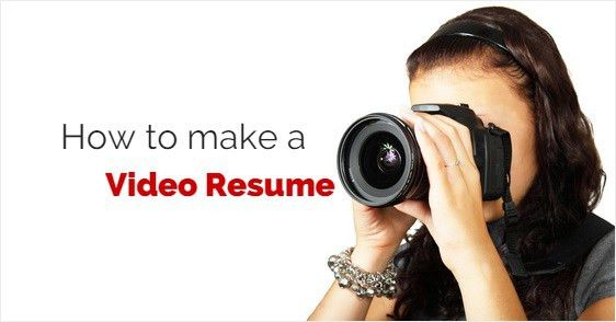 Cozy Inspiration Video Resume 8 Top 13 Tips On How To Make A Video ...